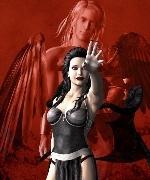 This vulnerability makes fallen angels a lot more accessible. We can see ourselves in them - that is why we love them.