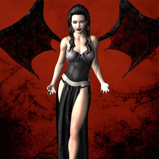 There is very little that separates fallen angels from vampires except in the particulars of their flaws, and powers.