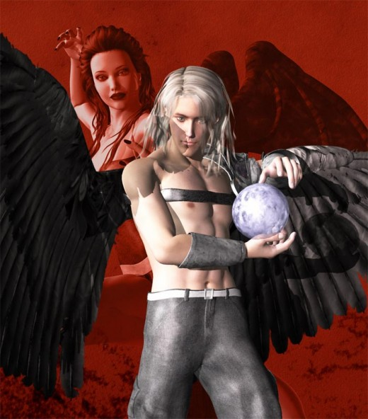 Fallen angels are attractive, irresistible, and we cannot help but fall in love with them.
