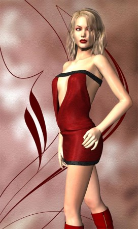Red dress in dream quest