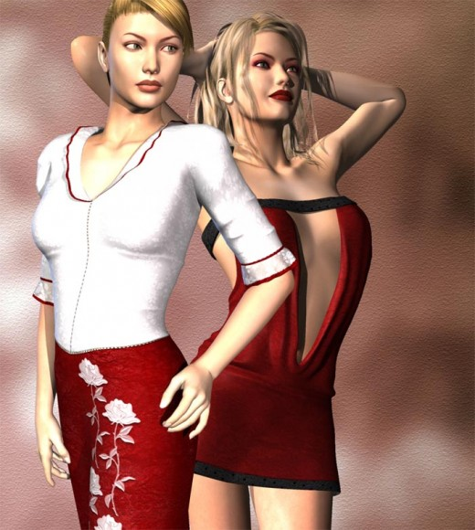 Short Red Dress or Conservative Red Dress - Good and Bad.