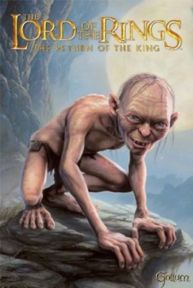 Lord of the Rings - Gollum My Precious - 25x35.5 Movie Poster. From Amazon.com