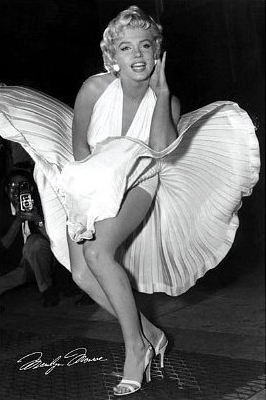 Marilyn Monroe-Seven Year Itch, Movie 24x36 Poster Art Print from Amazon.com